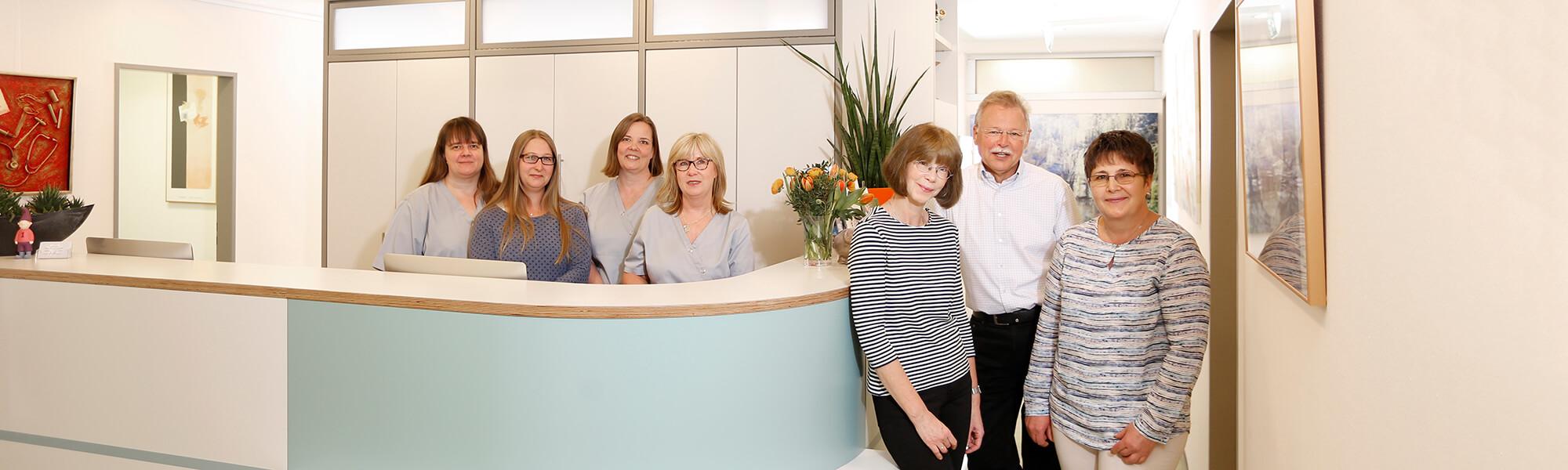 Hausarzt Lage - Dr. Burghardt - Team