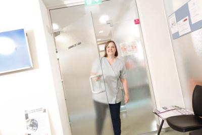 Hausarzt Lage - Dr. Burghardt - Wartezimmer